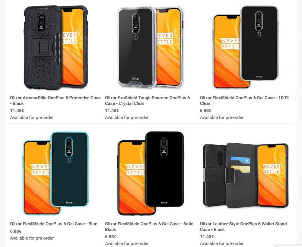 OnePlus 6 im Olixar-Case