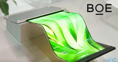 Faltbares Smartphone von BOE und Huawei
