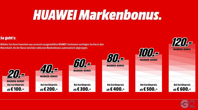 Huawei P20 Pro Marken-Bonus