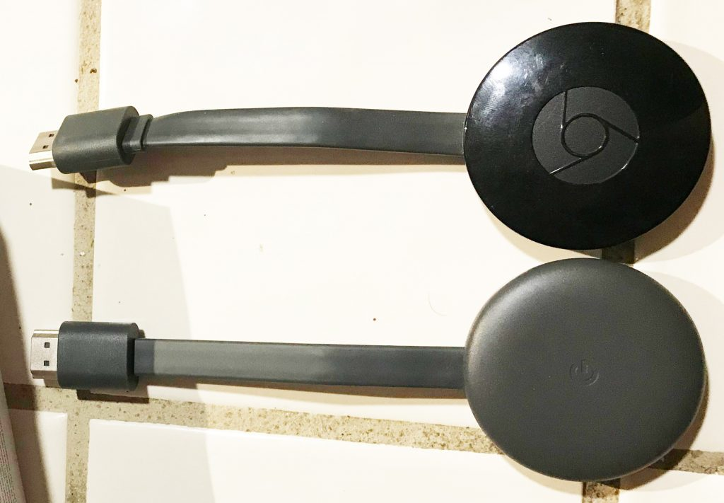 Chromecast 2 vs. Chromecast 3