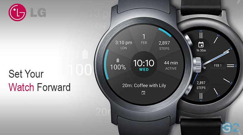 lg pr sentiert neben dem v40 thinq auch eine neue smartwatch. Black Bedroom Furniture Sets. Home Design Ideas