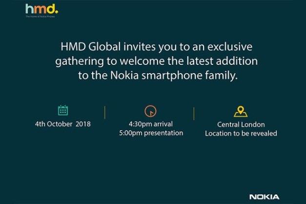 Nokia 7.1 Plus Einladung
