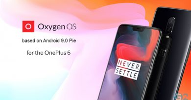 Android 9.0 Pie für das OnePlus 6