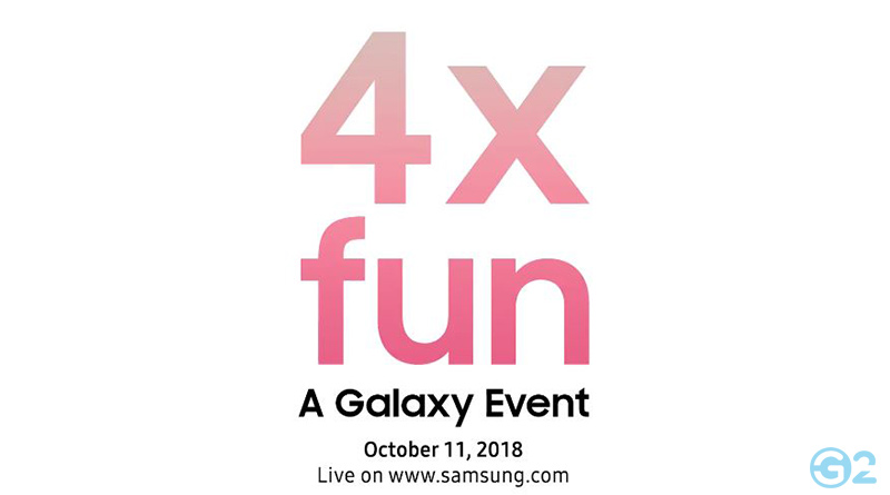 Samsung Galaxy Event 2018
