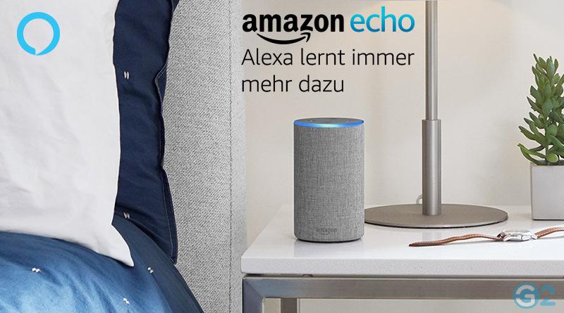 Amazon Alexa Sprachsteuerung