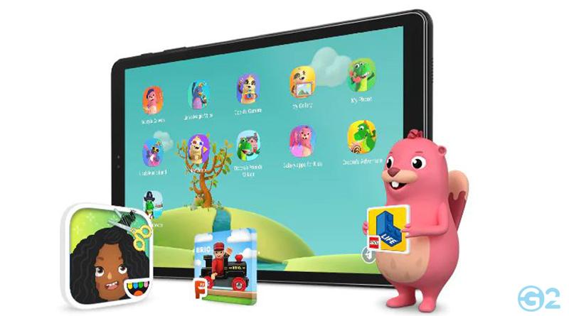 Samsung Galaxy Tab A 10.5 im Kindermodus