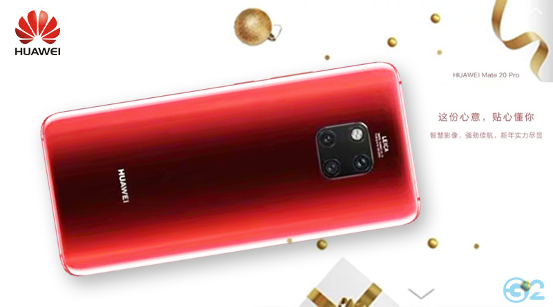 Huawei Mate 20 Pro in Rot
