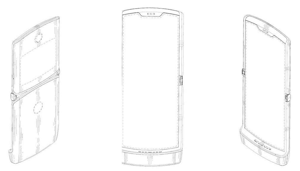 Motorola RAZR 2019 Patente