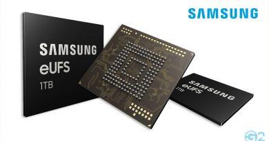 Samsung 1 Terabyte UFS-Speicher