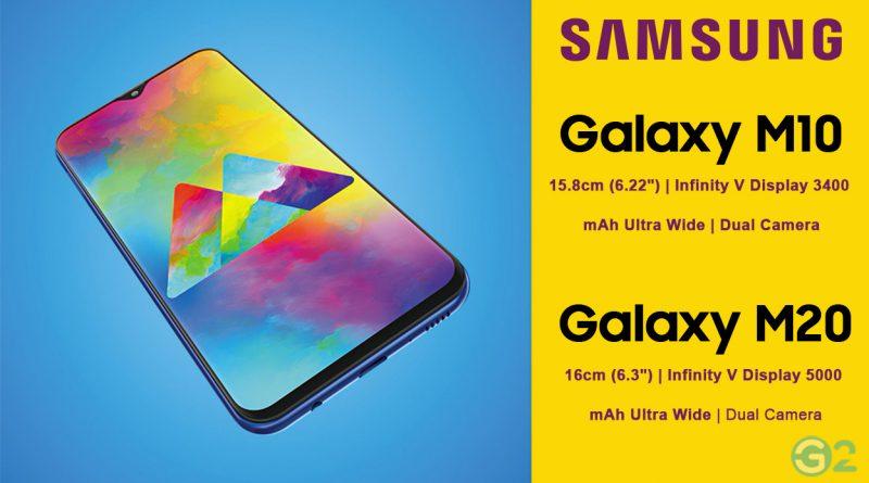 Samsung Galaxy M10 und Galaxy M20