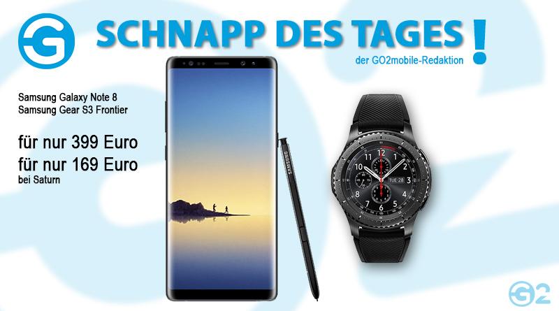 Samsung Galaxy Note 8 im Schnapp des Tages
