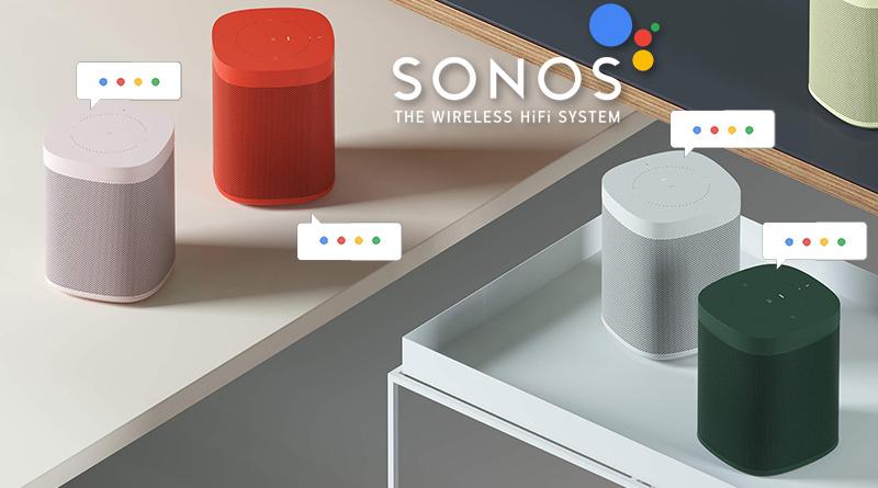 Sonos One mit Google Assistant