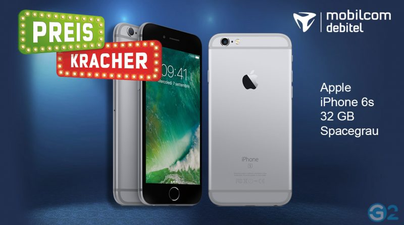 Apple iPhone 6s im Preiskracher-Angebot