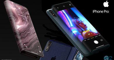 Apple iPhone Pro mit faltbaren Display