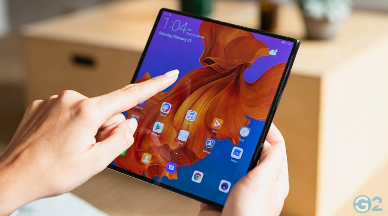 Huawei Mate X mit faltbaren Display