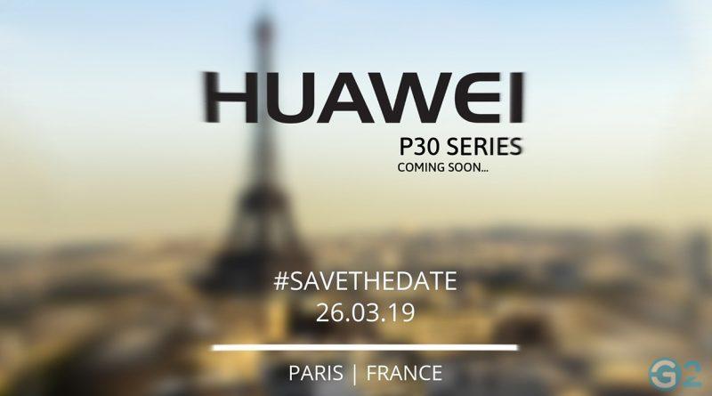 Huawei P30 Einladung