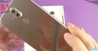Nokia 8.1 im Unboxing