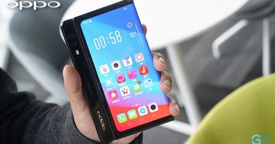 Oppo faltbares Smartphone