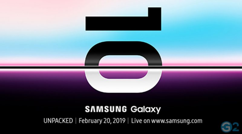 Samsung Galaxy S10 Event