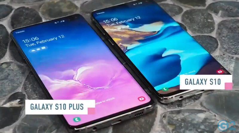 Samsung Galaxy S10 im Hands-on-Video