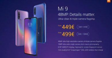 Xiaomi Mi 9 Preis