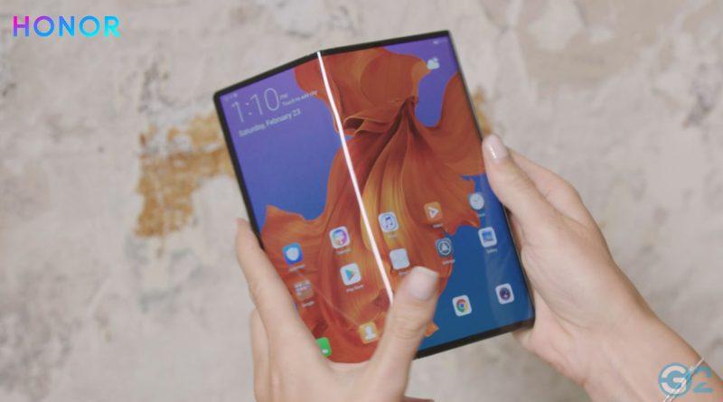 Honor mit faltbaren Smartphone