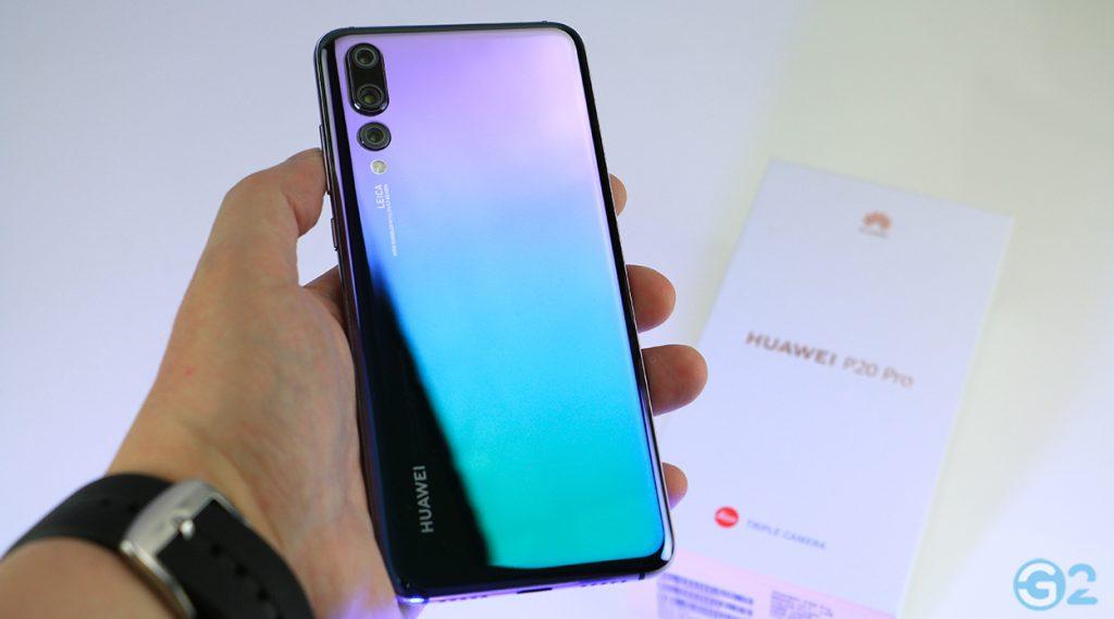 Huawei P20 Pro in Twilight