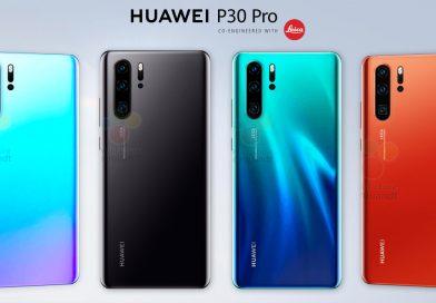 Huawei P30 Pro in 4 Farben
