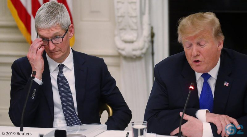 Tim Cook und Donald Trump