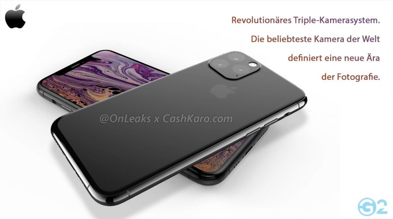Apple iPhone 11 und iPhone 11 Max