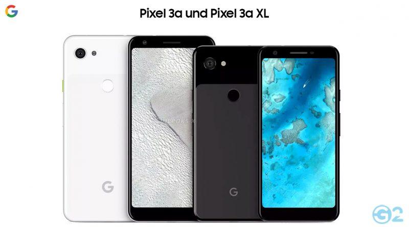 Google Pixel 3a und Pixel 3a XL