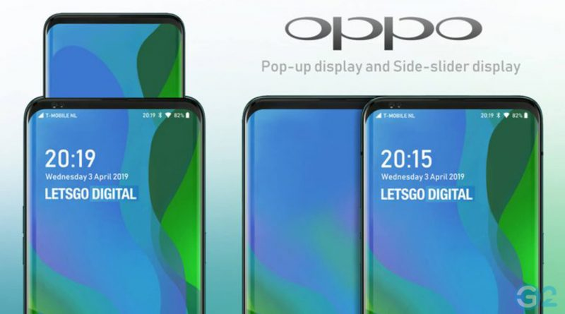 Oppo Pop-Up-Display
