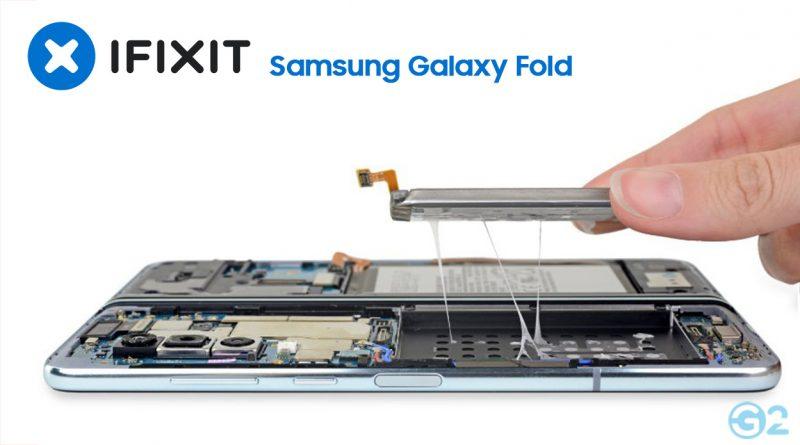 Samsung Galaxy Fold bei iFixit