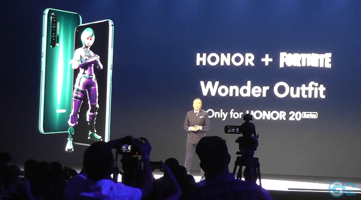 Fortnite Wonder Outfit by Honor