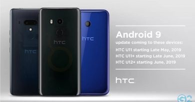 HTC OTA-Update auf Android 9 Pie