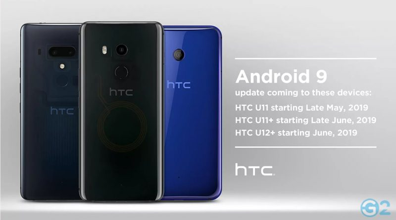HTC OTA-Update auf Android 9 Pie