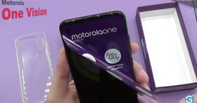 Motorola One Vision im Unboxing