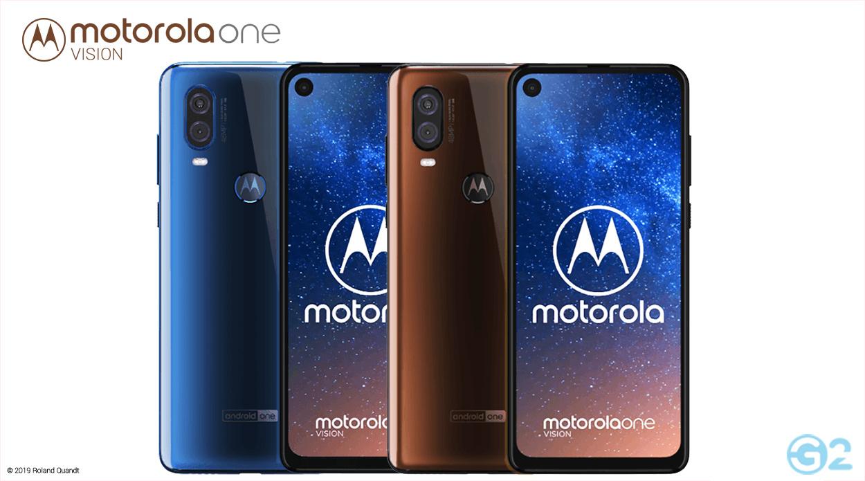 Motorola One Vision Farben
