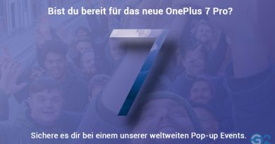 OnePlus 7 Pro Pop-Up-Event