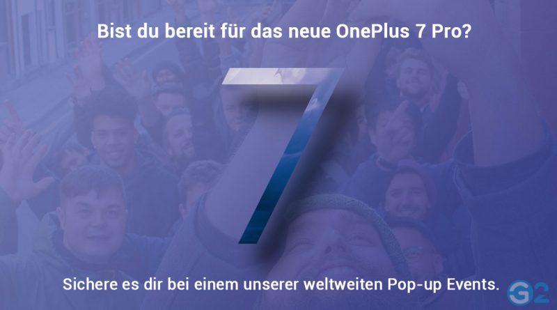 OnePlus 7 Pro Pop-Up-Event