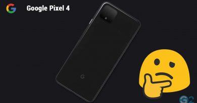 Google Pixel 4 Fake