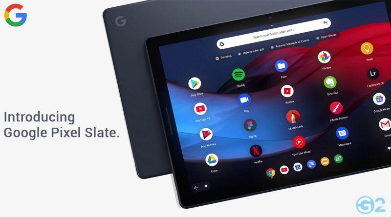 Google Pixel Slate Tablets