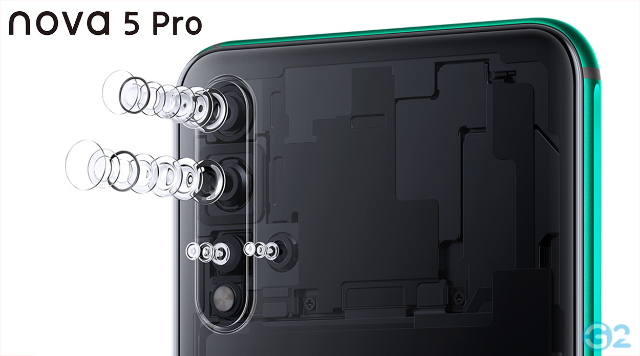 Huawei Nova 5-Serie Quad-Kamera