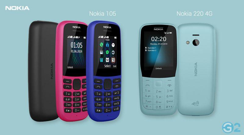 Nokia 105 und Nokia 220 4G