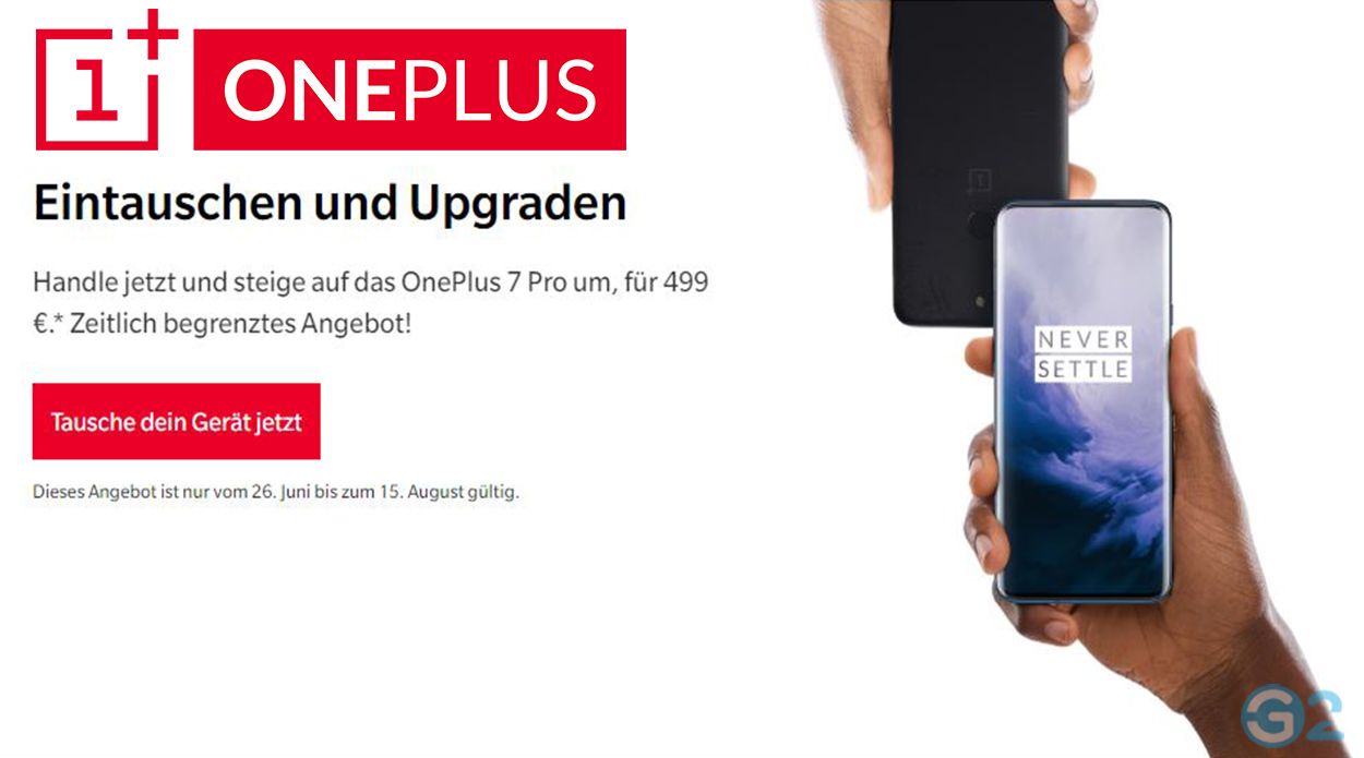 OnePlus Trade-In-Programm