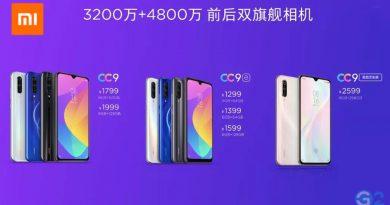 Xiaomi Mi CC9 und Mi CC9e