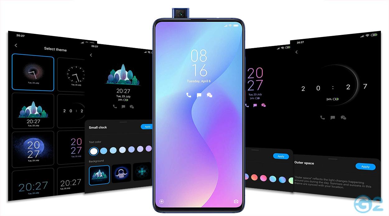 Xiaomi MIUI Always-on-Display