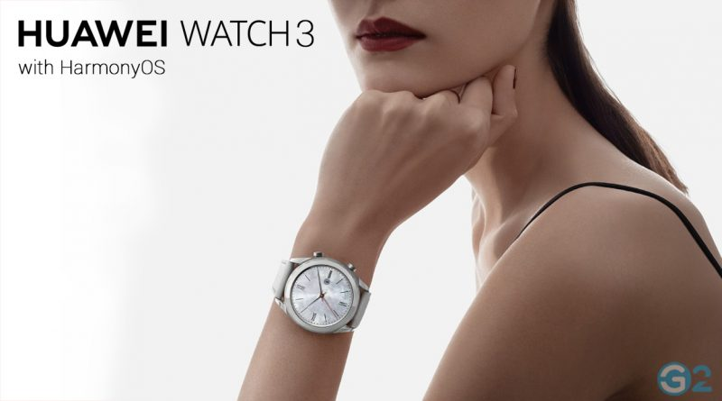 Huawei Watch 3 with HarmonyOS