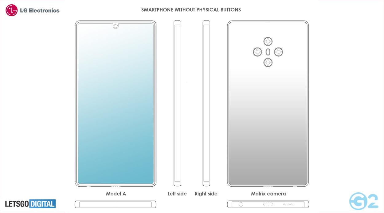 LG Smartphone ohne Tasten