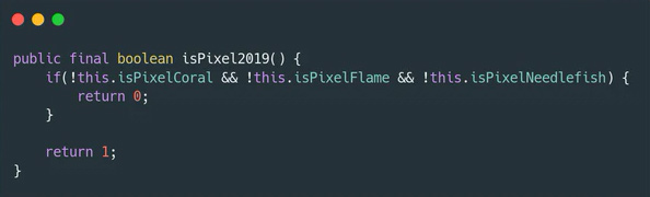 Ist Needlefish ein Google Pixel 4a